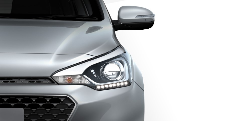 2021 Hyundai i20 New Headlights