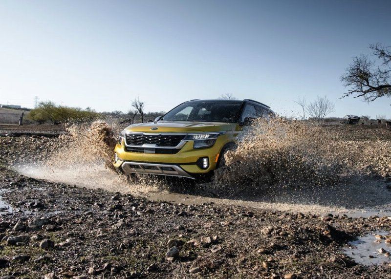 2021 Kia Seltos All Wheel Drive for Off-Road Capability