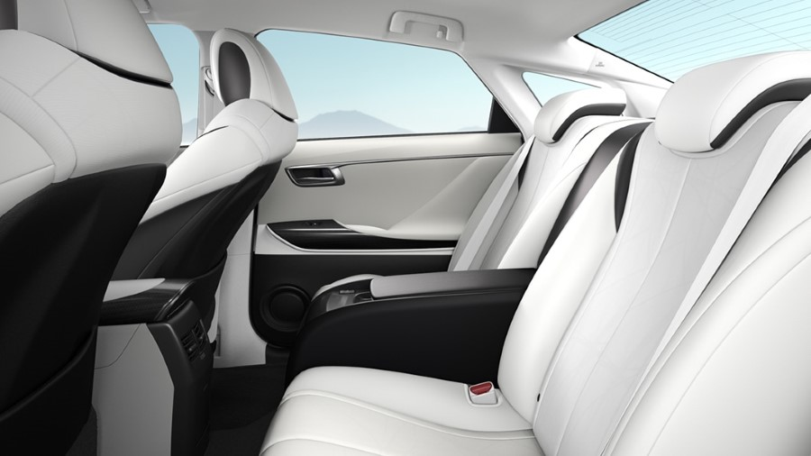 2021 Toyota Mirai Seating