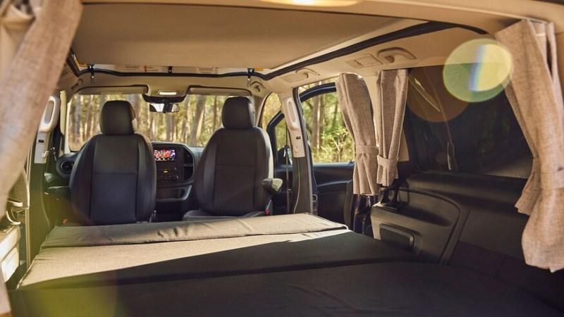 2021 Mercedes-Benz Metris Weekender Camper Van Interior DImensions