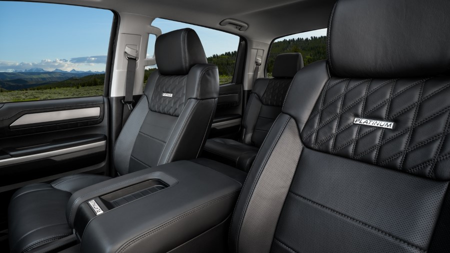 2021 Toyota Tundra Hybrid Interior