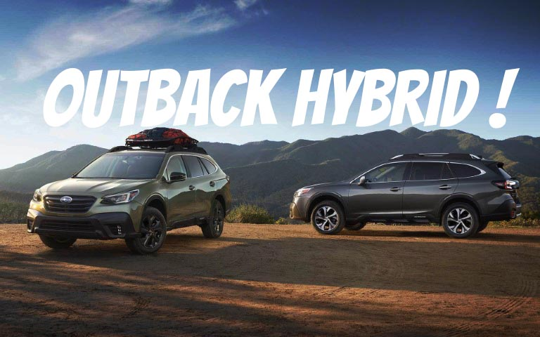 2021 Subaru Outback Hybrid Price & Trims