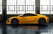 2022 Acura NSX Hybrid Yellow Paint COlor