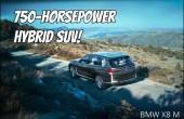 2022 BMW X8 M 750 Hp Hybrid SUV