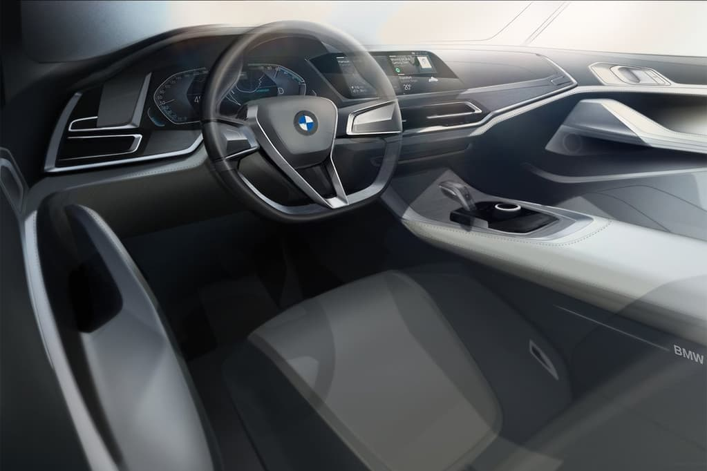 2022 BMW X8 M Interior Concept