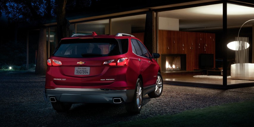 2022 Chevrolet Equinox Red Color