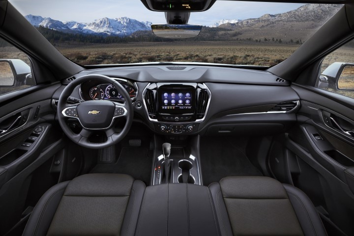 2022 Chevrolet Traverse Interior Dashboard