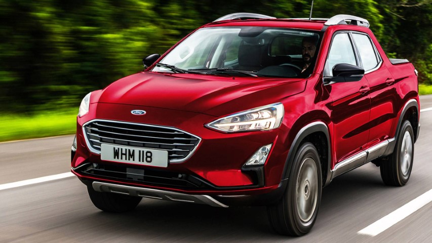 2022 Ford Courier Exterior Look