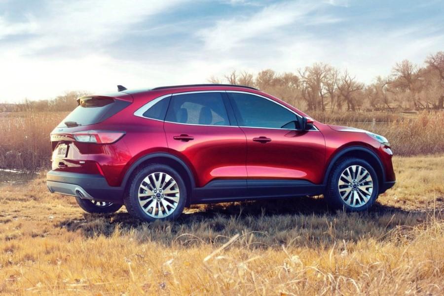 2022 Ford Escape All Wheel Drive Systems