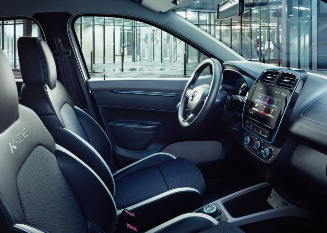 Dacia Urban City Car Interior Pictures based on Renault K-ZE