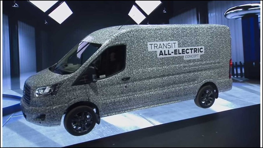 2022 Ford Transit Electric Van Release Date