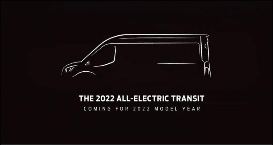 2022 Ford Transit Electric Van