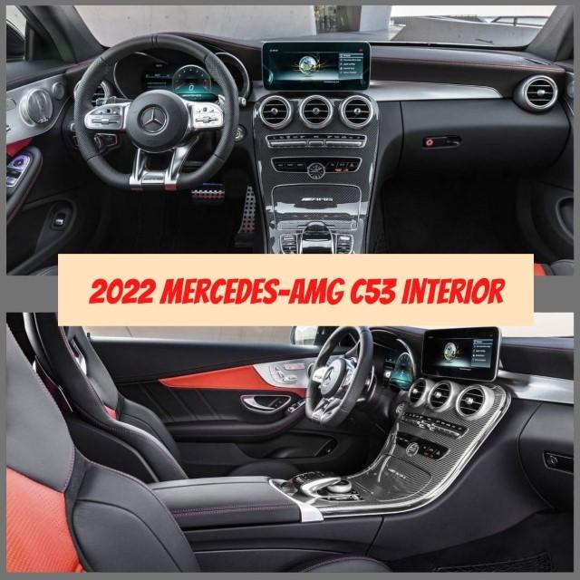 2022 Mercedes-AMG C53 Interior