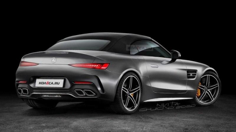 2022 Mercedes-Benz SL Rendering