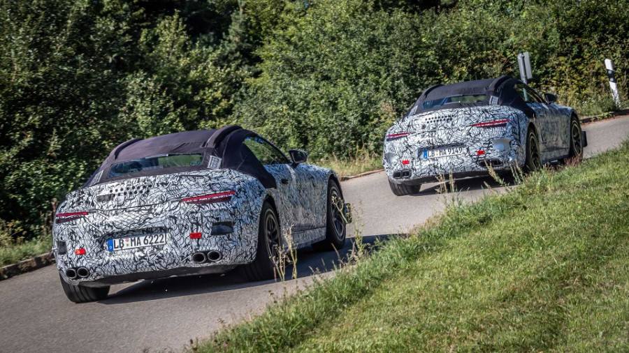 2022 Mercedes-Benz SL Spy Photos