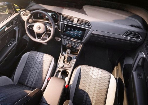 2022 VW Tiguan New Interior Look