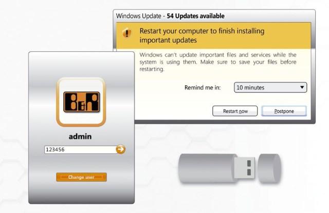 특히 심각한 보안 위험은 취약한 암호, 소프트웨어 업데이트 설치 실패 그리고 USB 메모리를 통한 손쉬운 접근 등에 의해 제기된다.