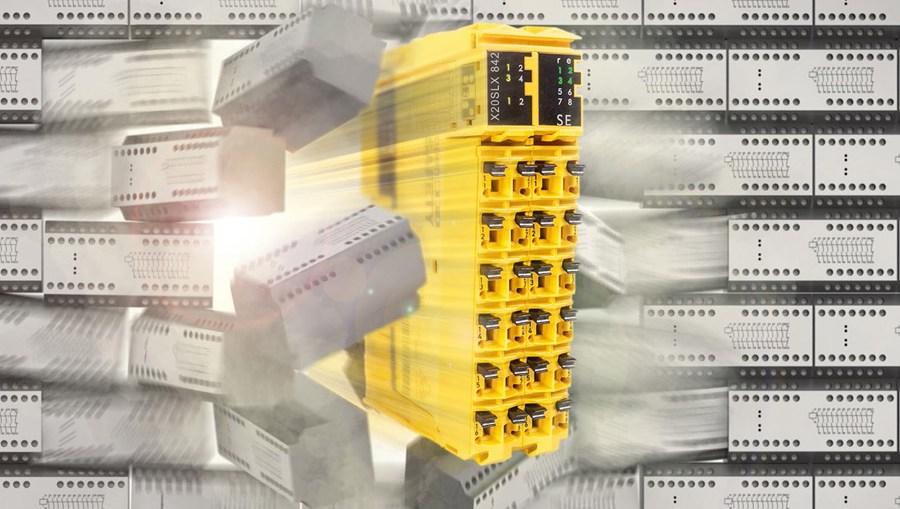 B&R은 모든 기계 변종에 걸쳐 빈틈 없이 확장 가능한 안전 솔루션을 갖추고 실결선(hardwired) 안전 기술의 제약을 돌파한다.