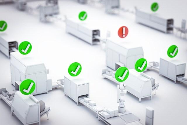 B&R에서 새로 선보인 mapp View 소프트웨어 패키지의Skyline 위젯은 광범위한 제조 시스템에 대한 명확한 개요를 보여준다.