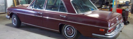 1967 Mercedes 250S Project
