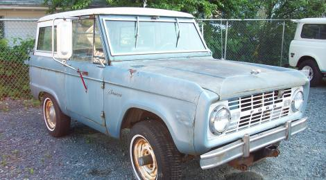 SOLD 1966 Ford Bronco Project