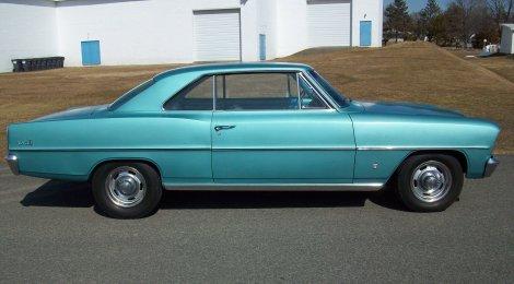 SOLD 1966 Chevy Nova