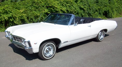 SOLD 1967 Impala SS Convertible