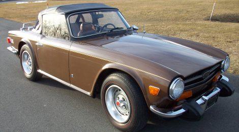 SOLD 1974 Triumph TR6