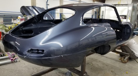 1968 Jaguar XKE Coupe Body restoration