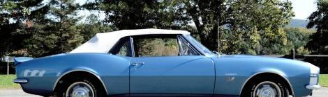 1967 Camaro SS 396 Convertible