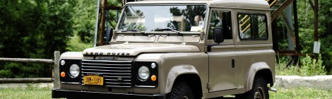 9k-Kilometer 1986 Land Rover Defender 90