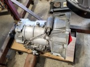 rebuilt transmission cleaned & ready for installation