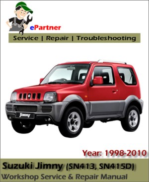 Suzuki Jimny Service Repair Manual 19982010 | Automotive