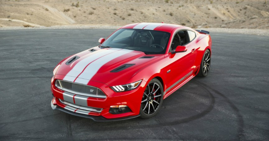 2015 Shelby GT Red