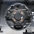 Rear brake backing plates