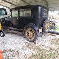Barn Find Model A Ford Sedan Parked Since 1966