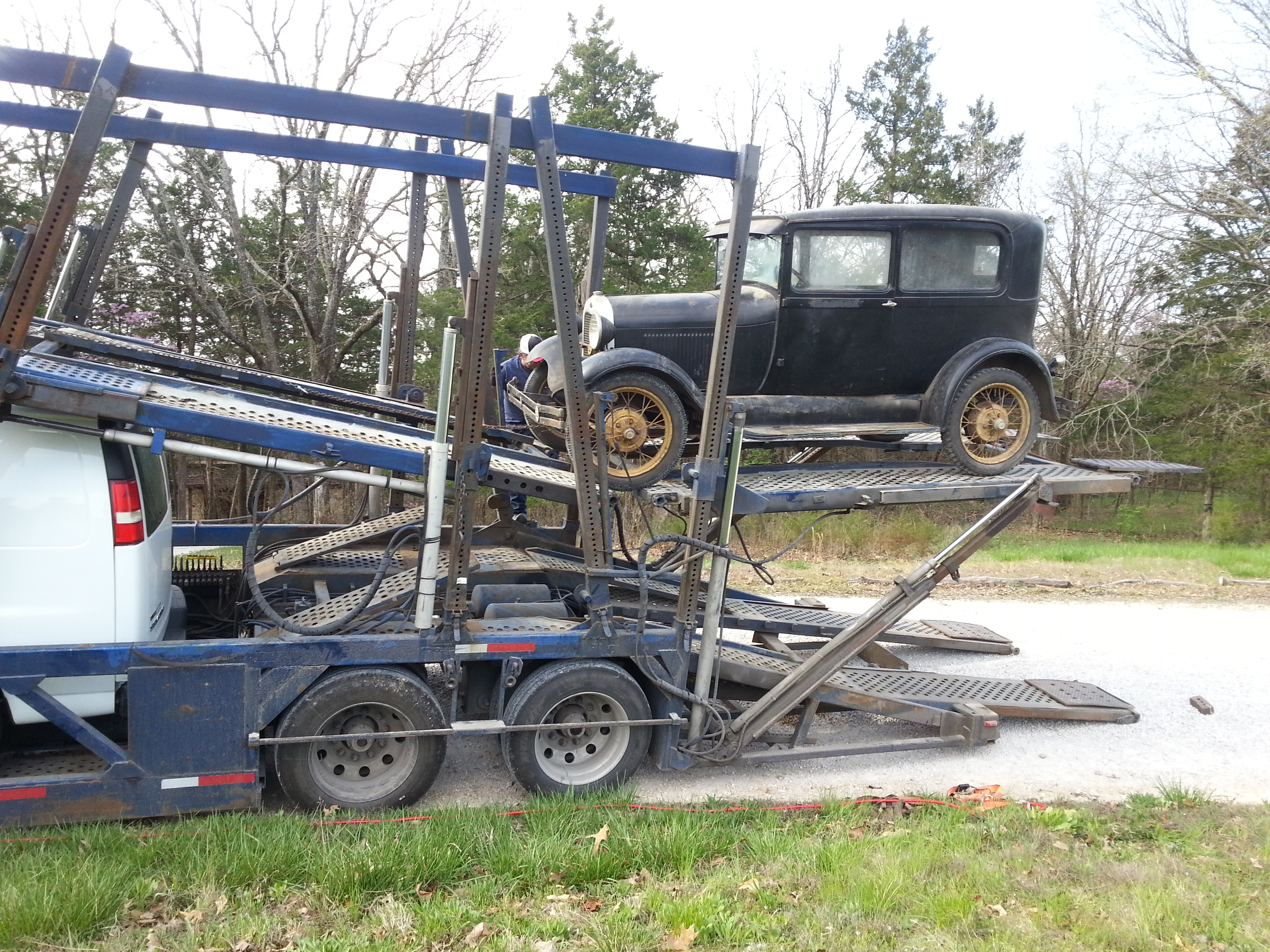 Barn Find Model A Ford Sedan Parked Since 1966 Headed for England