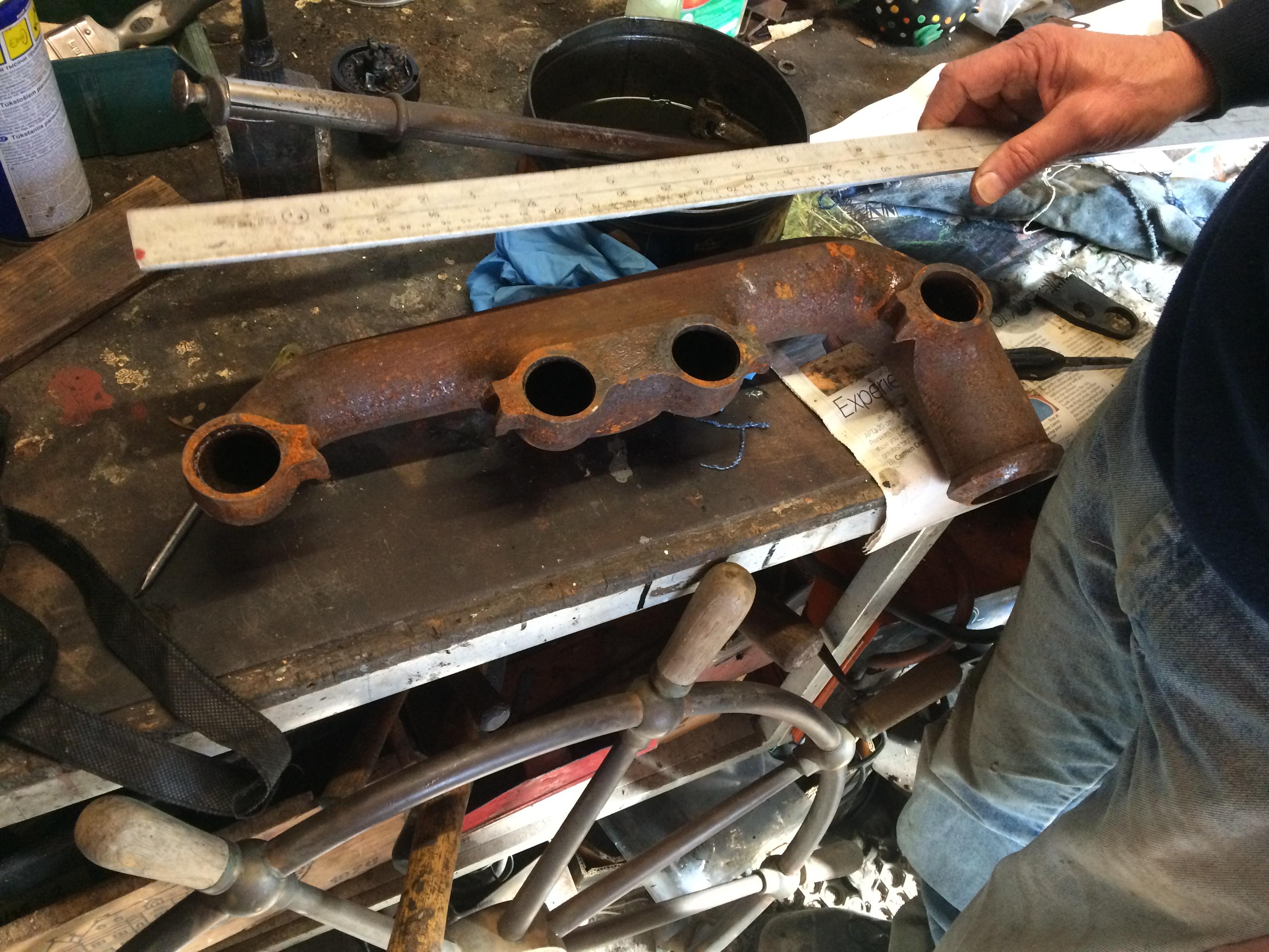 John Cochran Model A Exhaust Manifold Blow