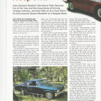 Auto Restorer Magazine Article