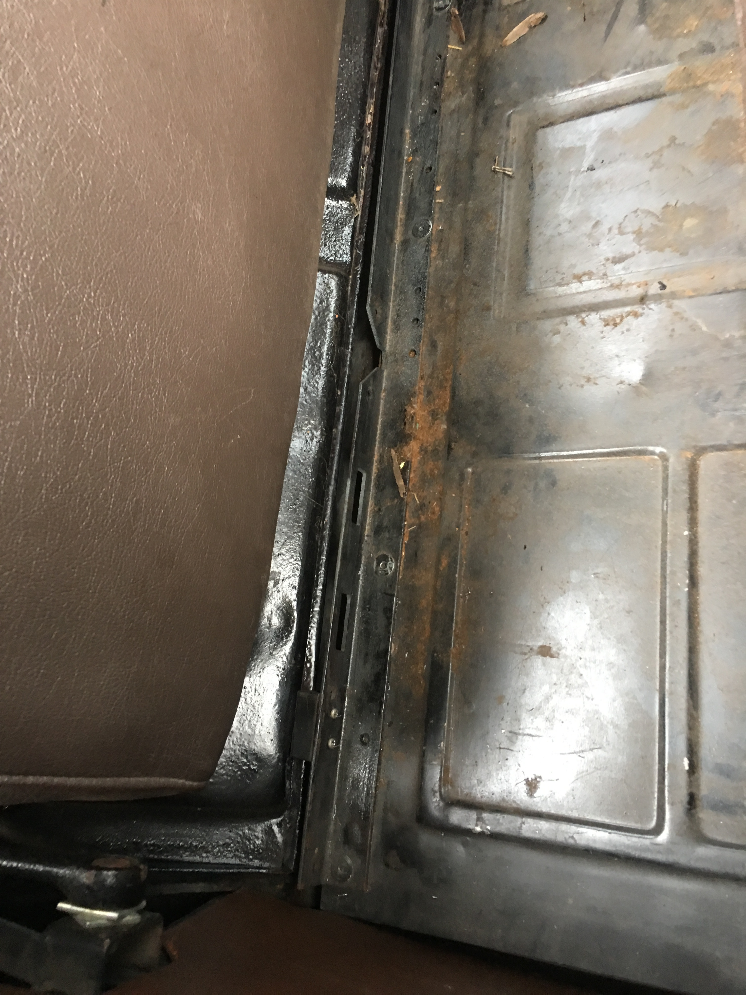 Rumble Seat Spare Wheel Clearance Fix