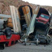 Nevada Train Derailment Claims Dozens of Jeep Gladiators, GM Trucks - Ed Tahaney @MotorTrend