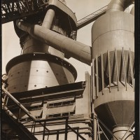 Criss-Crossed Conveyors, River Rouge Plant 1927, Ford Motor Company by Charles Sheeler