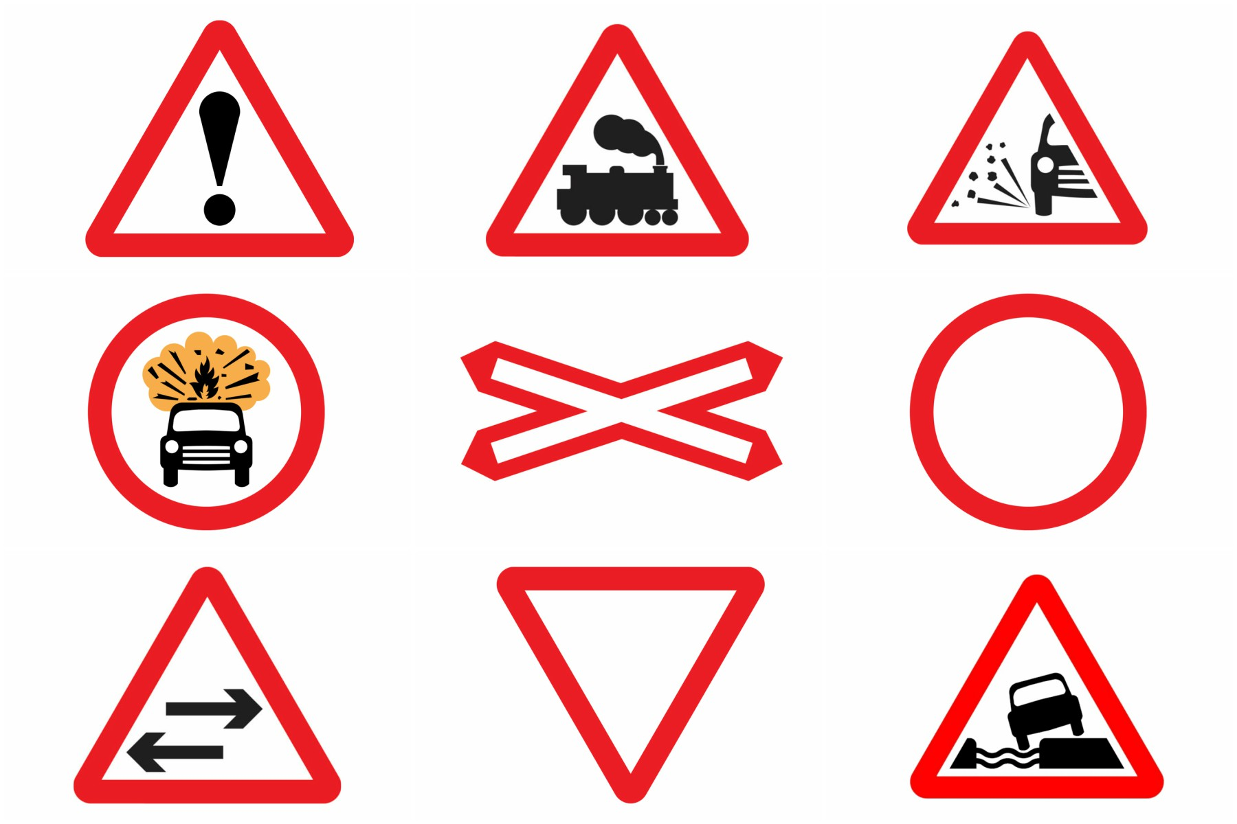 Most Drivers Unable To Identify Road Signs Automotive Blog