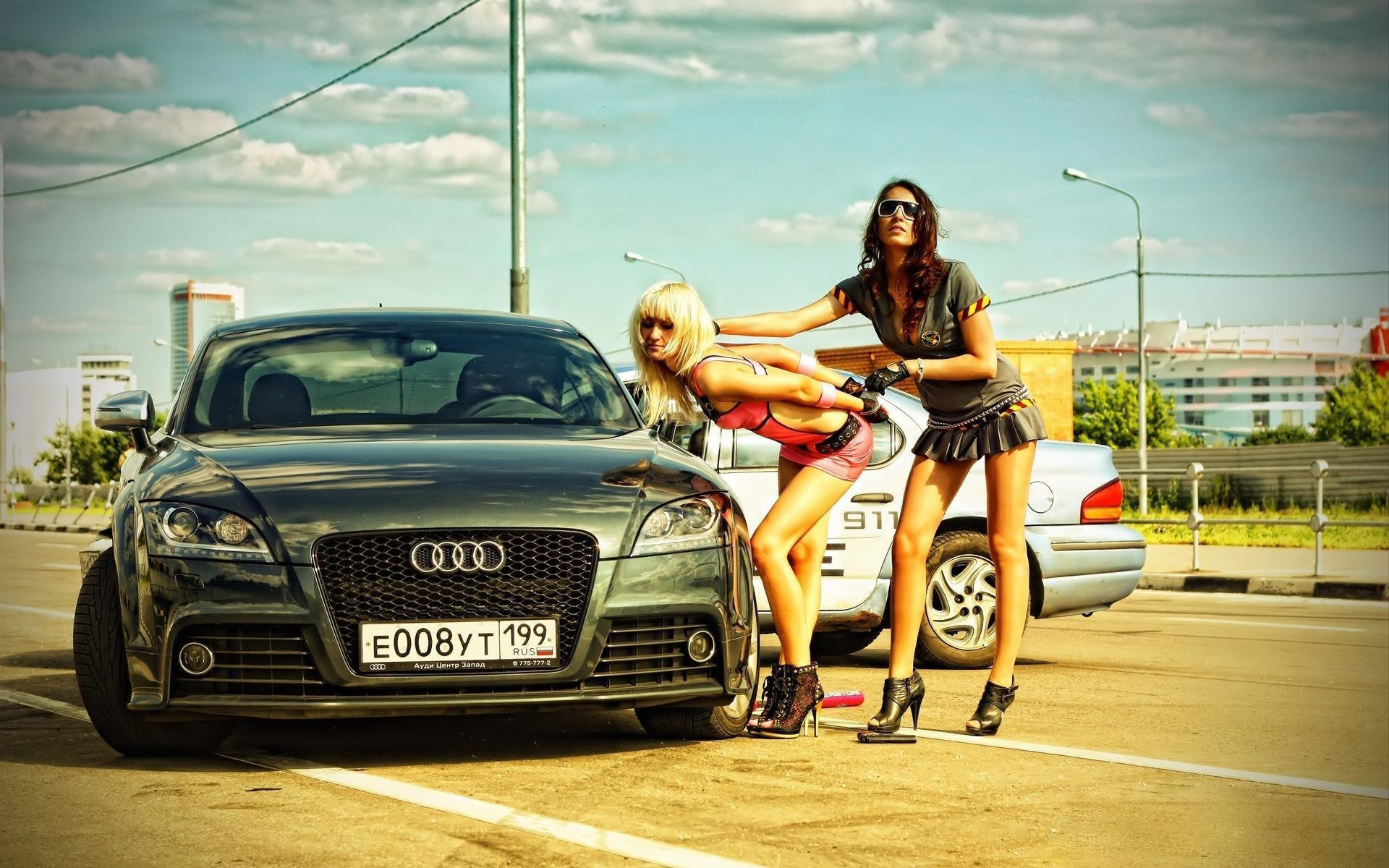 Girls And Cars Wallpapers 5 Automotive Century