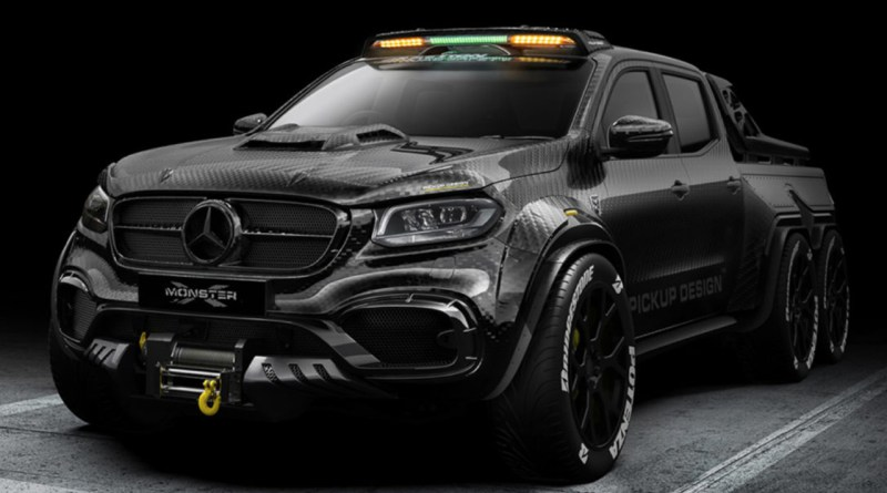 Pickup Truck of Your Dreams? Mercedes-Benz X-Class EXY!