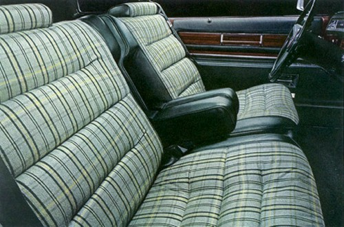 1976 Cadillac Eldorado Interior Trim
