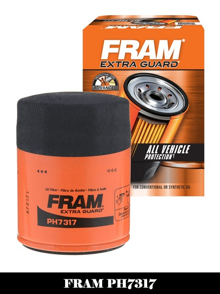 FRAM PH7317 Extra Guard Passenger Car Spin-On Oil Filter-Top 10 Best Oil Filters Reviews
