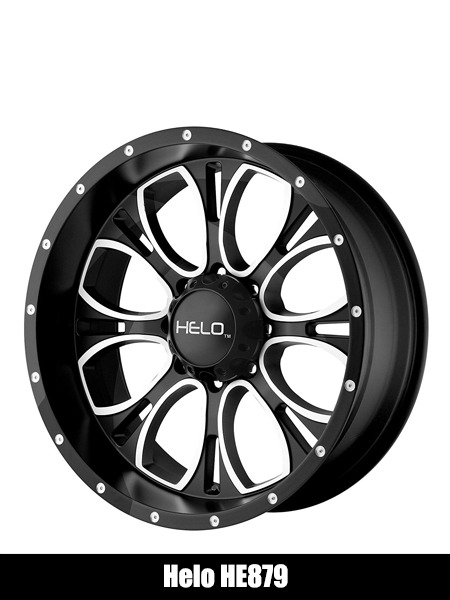 Helo HE879 Wheel with Gloss Black Milled - Top 10 Best Car Wheels Aftermarket Reviews