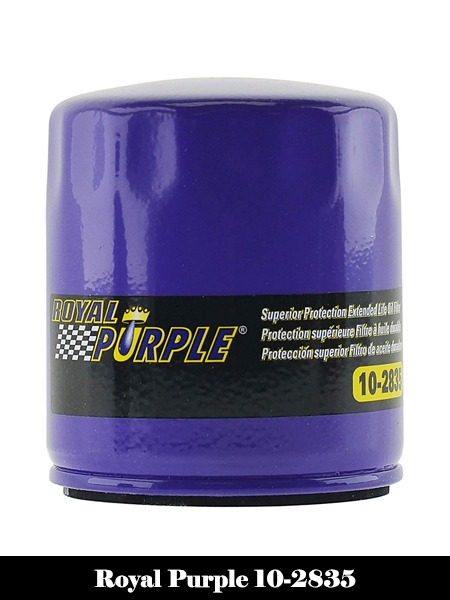 Royal Purple 10-2835 Extended Life Premium Oil Filter-Top 10 Best Oil Filters Reviews