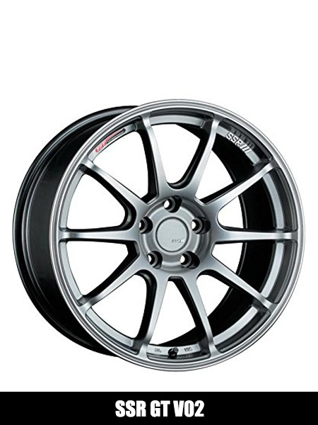 SSR GT V02 Flat Black Wheel with Painted Finish - Top 10 Best Car Wheels Aftermarket Reviews